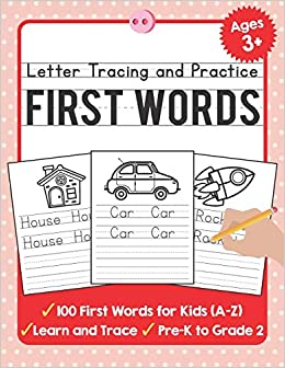 Amazon.com: Letter Tracing and Practice: 100 First Words ...