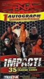 2008 Tristar TNA Impact Wrestling Factory Sealed Retail Box Includes 1 Autograph
