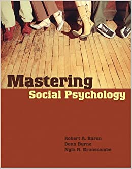Social Psychology By Baron And Byrne Pdf