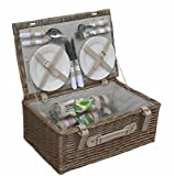 Spring 4 Person Fitted Picnic Basket