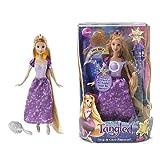 Mattel Disney Tangled Sing and Glow Rapunzel Doll