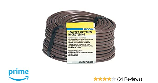 Drip Irrigation Hose Emitter Poly Micro Tubing Heavy Duty X 50 Ft DIG 1//2 In