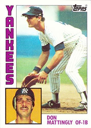 1984 Topps Baseball #8 Don Mattingly Rookie Card -