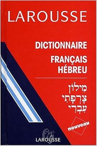 Lire un Dictionnaire français-hébreu pdf