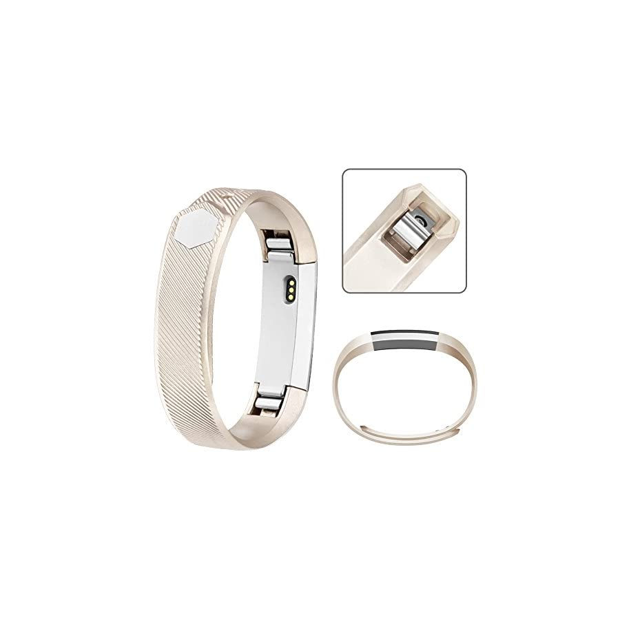 AK for Fitbit Alta Bands, Replacement Fitbit Bands for Fitbit Alta/Alta HR with Metal Clasp