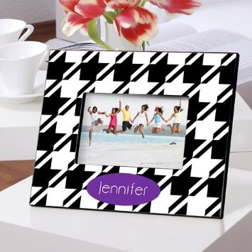 Amazon.com - Picture Frame Houndstooth Design -