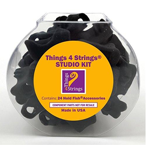 Things 4 Strings Studio Kit: Hold Fish: Concert Black