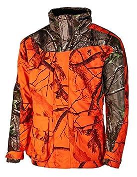 Browning Parka XPO One - Chaqueta de Caza (Aislamiento térmico), diseño de Camuflaje, Color Naranja y Verde, XXX-Large: Amazon.es: Deportes y aire libre
