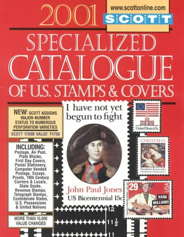 Scott Specialized Catalogue of United States Stamps & Covers 2001 - Issue Stamp Cover