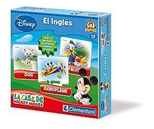 Clementoni- Inglés con La Casa de Mickey Mouse