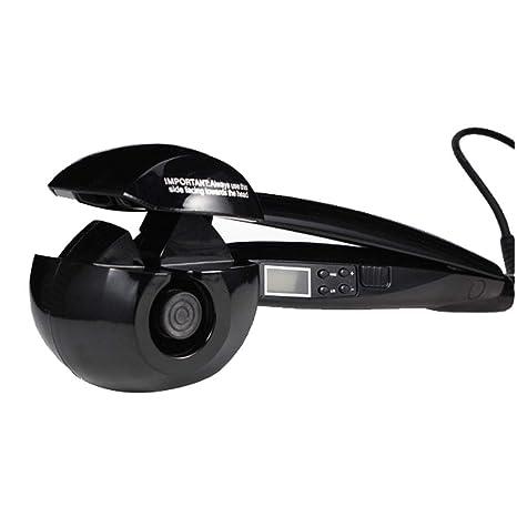 DANTB Rizador de Pelo automático Cerámica Curling Iron Curling Varita 360 Grados Derecha/Izquierda Rizador