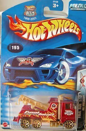 Mattel Hot Wheels 2003 1:64 Scale Final Run Red Rig Wreck...
