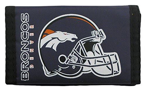 NFL Denver Broncos Nylon Trifold Wallet (Market My Denver Goods)