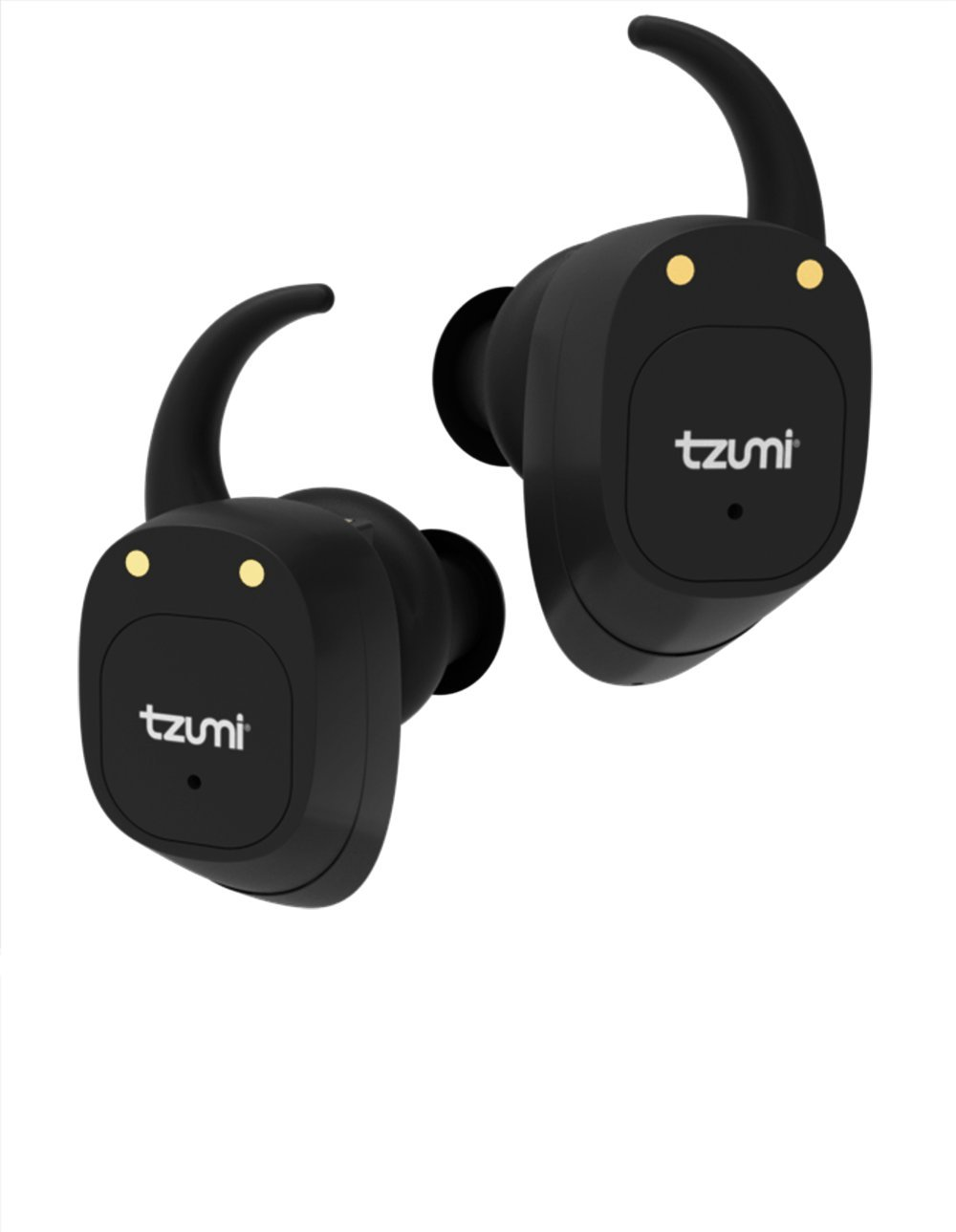 Tzumi ProBuds True Wireless Earbuds - Wireless Stereo Earbuds With Built-In Microphone and Charging Case – Bluetooth 4.2 Compatible with all iPhone and Android Devices