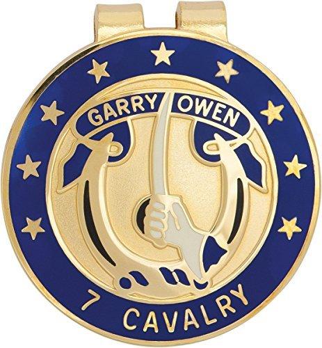 U.S. Army 7th Cavalry Unit Crest Money Clip