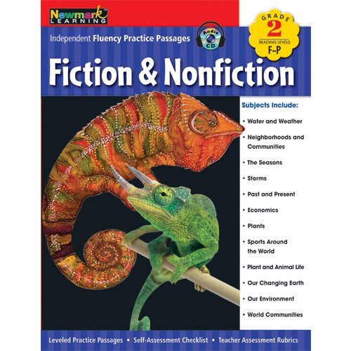 Independent Fluency Practice Passages: Fiction and Nonfiction Grade 2 with Audio CD by Newmark Learning