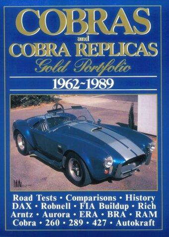 Cobras and Cobra Replicas: Gold Portfolio, 1962-1989 ()
