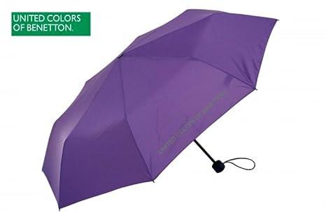 Lila petito paraguas de Benetton –