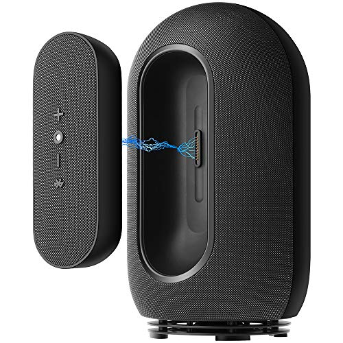 Bauratti ONE Portable Bluetooth Speakers Wireless Speaker with Wireless Subwoofer Stereo System APT-X Sound Bar Surround Sound System with Detachable Subwoofer for Cellphones, TV, Mobile Phones