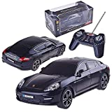 Liberty Imports Porsche Panamera Turbo R/C Radio Remote Control Car 1:18 Scale (Black)