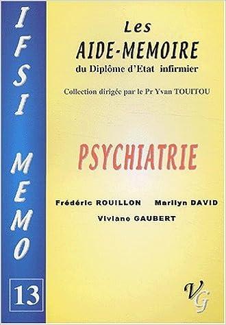 Livres gratuits en ligne Psychiatrie pdf