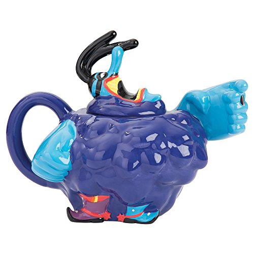 Vandor 73008 The The Beatles Yellow Submarine Meanies Sculpted Ceramic Teapot, 8.5 x 6.5 x 5.5 Inches