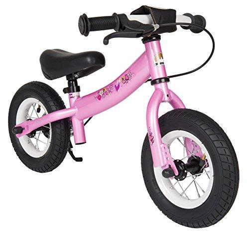 bikestar 10 inch (25.4cm) Kids Balance Bike / Kids Running Bike - Sport - Pink Fairy Design