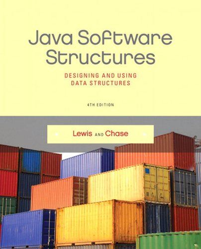 Java Software Structures (4th Edition) Pdf