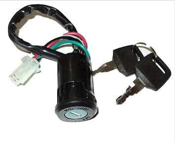 OJ Interruptor eléctrico (quad, patinete bicicleta) 24 VLT ...