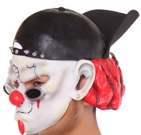 BuyerKit(TM) 2016 New Halloween horror clown mask latex mask dance party