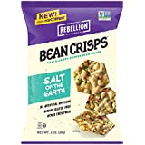 POPCORNERS Salt of the Earth Bean Crisps, Gluten Free, Non-GMO, Single Serve 1oz bags (Pack of 40)