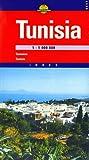 Tunisia Map (Cartographia World Travel Map) (Hungarian Edition)