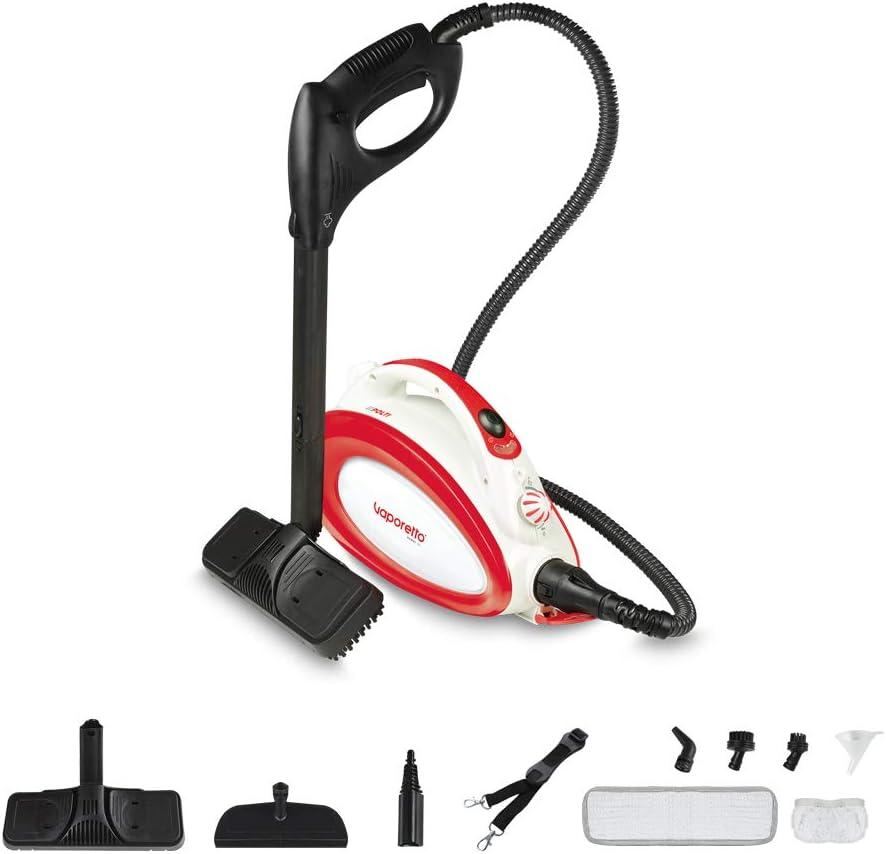 Polti Vaporetto Handy 20 limpiador a vapor, 3.5 bar con bandolera, 10 accesorios, 1500 W, Acero Inoxidable: Amazon.es: Hogar