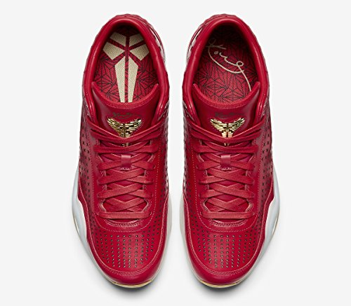 Hommes Nike Kobe X Milieu Ext Université Rouge 802366 600 Chaussures