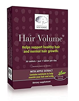 New Nordic Inc Hair Volume (30 Tablets) NEW500