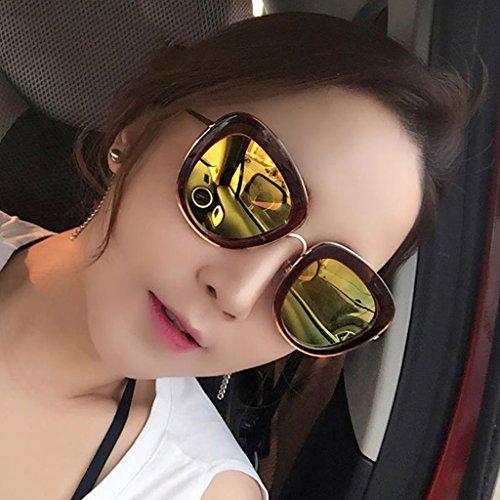 Delgadas Gafas 2 de Sol 1 Sol Femeninas DT Gafas de Coreanas Color polarizadas Gafas wUR4U1q