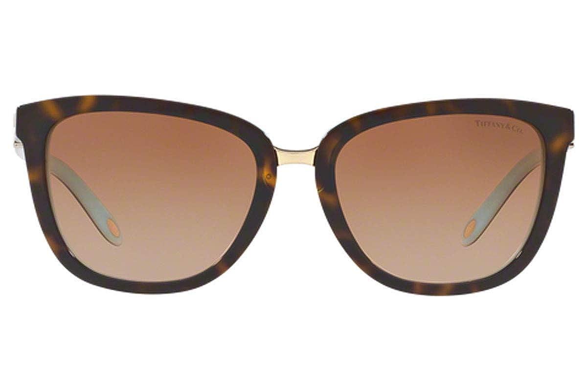 Amazon.com: Tiffany & Co tf4123 55 mm anteojos de sol Havana ...