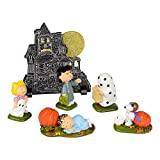 Department 56 Peanuts Haunted House Figurine (Set of 6)