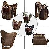 Chikencall Mens Boys Vintage Canvas Bags Retro