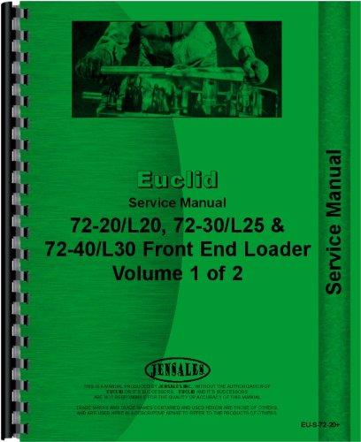 Read Online Euclid 72-20 L20 Front End Loader Service Manual pdf epub