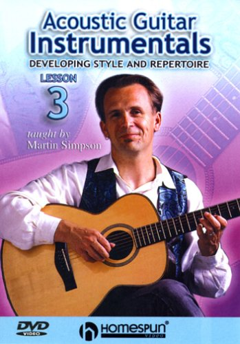 DVD-Acoustic Guitar Instrumentals #3-Developing Style And Repertoire