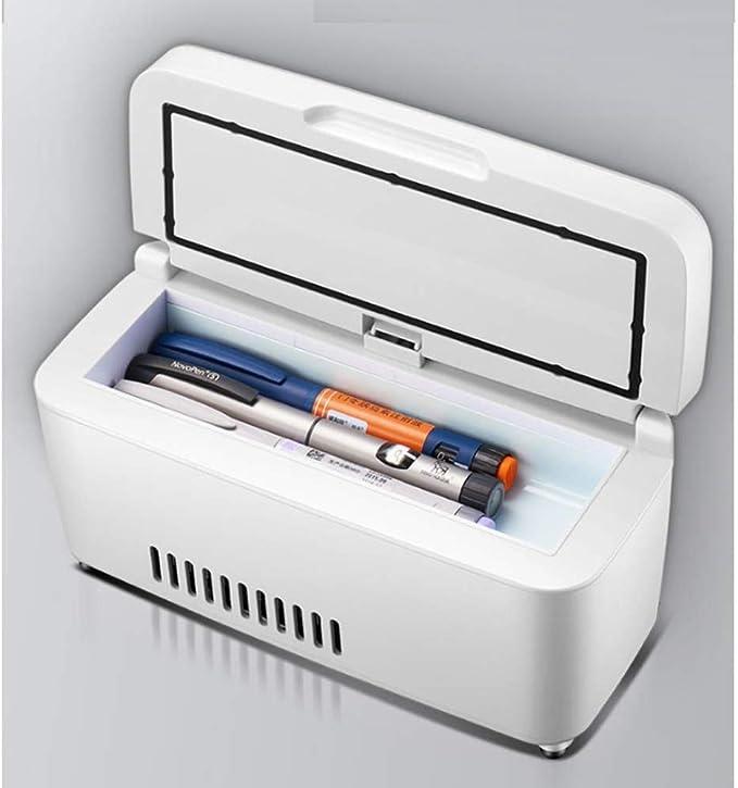 Dljyy Refrigerador de la insulina, la Medicina portátil Caja ...