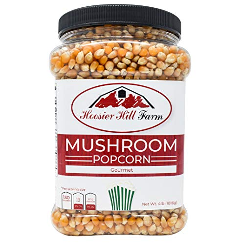 Hoosier Hill Farm Gourmet Mushroom NON-GMO Popcorn Lovers, 4 Pound