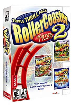 Rollercoaster Tycoon 2: Triple Thrill Pack