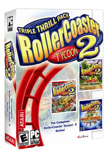 Rollercoaster Tycoon 2: Triple Thrill Pack - PC (Roller Coaster Tycoon 1 Mac)