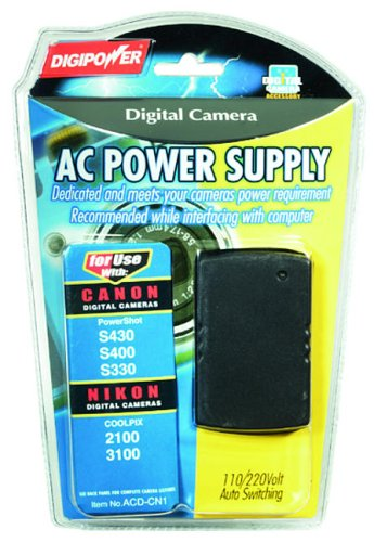 (DigiPower Solutions  ACD-CN1 AC Adapter for Canon Digital Camera)
