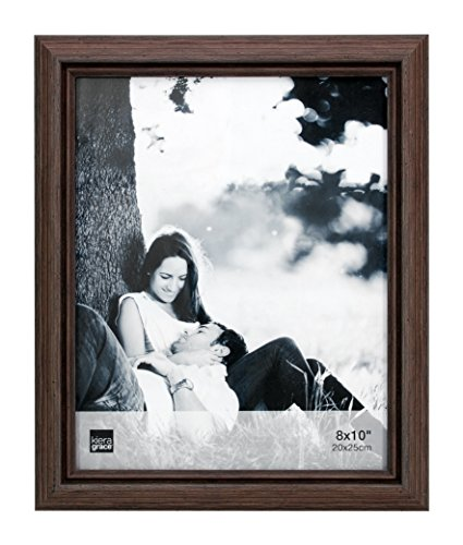 Kiera Grace Nolan Picture Frame, 8  by  10 Inch, Grey Driftwood