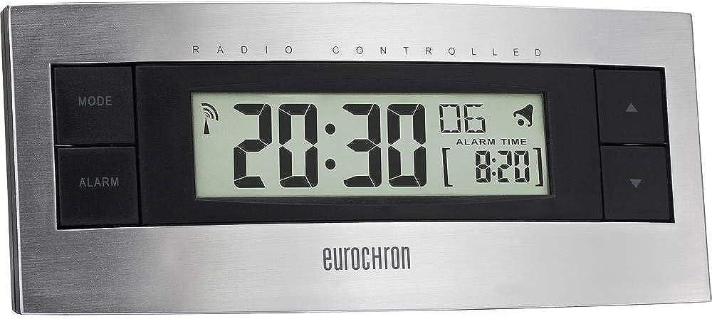 e Eurochron EFW 2000 argent noir R/éveil radiopilot/é