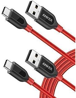 USB C Kabel auf USB 2.0 Kabel[2-Pack] Anker PowerLine+ 1.8m, für Galaxy S9 S8+ S8,…