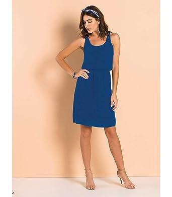 50b6584acc Vestido Crepe Endless  Amazon.com.br  Amazon Moda